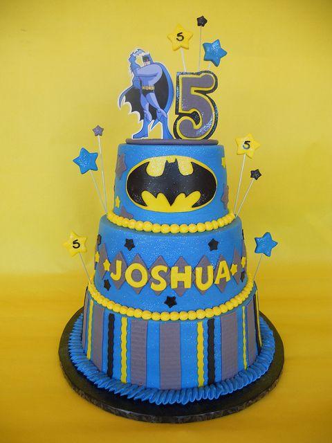 #KatieSheaDesign ?? ? Batman Birthday Cake