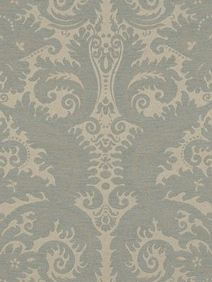 Ralph Lauren Fabric Hazel Wood Damask-Fog $115.75 per yard #interiors #decor #damaskfabric