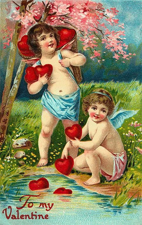 Victorian-valentines