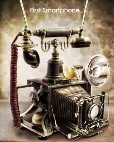 The world's first smart phone.