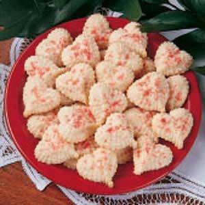 Valentine Butter Cookies