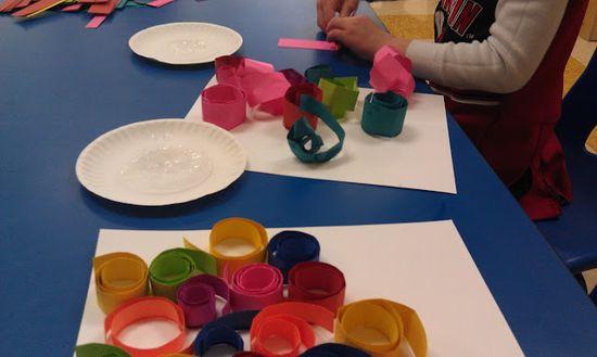 3-D art swirls
