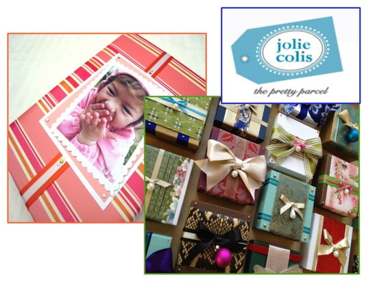 2012 Scotch Most Gifted Wrapper Jolie Colis as featured on ConfettiStyle