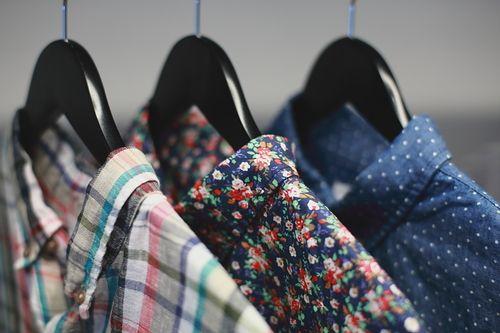 Men's Plaid, Floral and Polka Dot Patterned Shirts