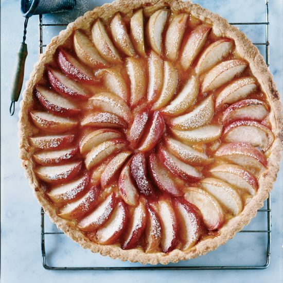White Peach Tart // More Delicious Summer Desserts: www.foodandwine.c... #foodandwine