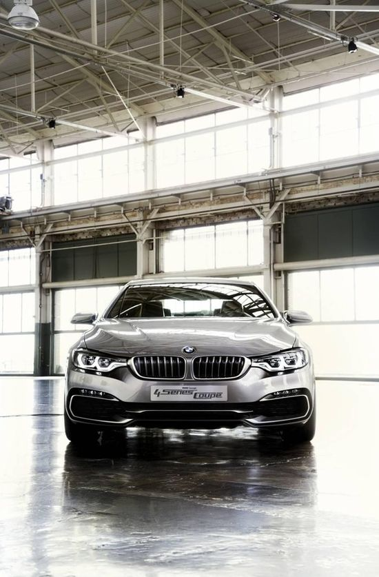 2012 BMW 4 Series Coupe concept. Sweet nectar of the gods!