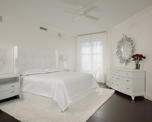 Modern White Guest Bedroom Interior Furniture Decor Selecting White Furniture Ideas for Guest Room Decor