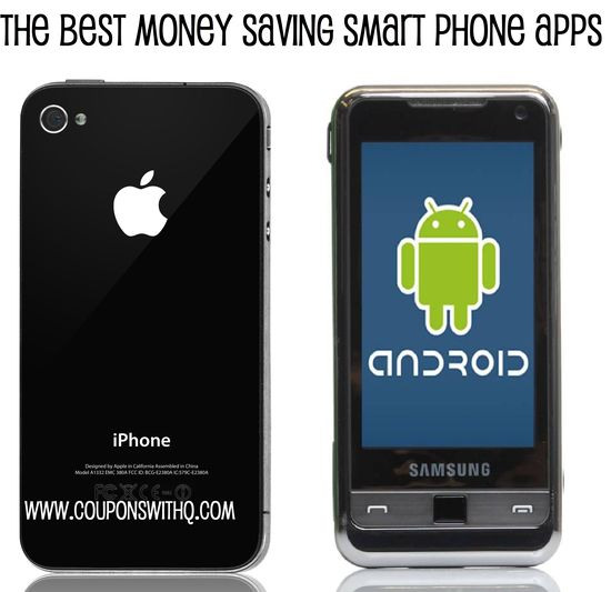 the very best money saving smart phone apps www.couponswithq.com