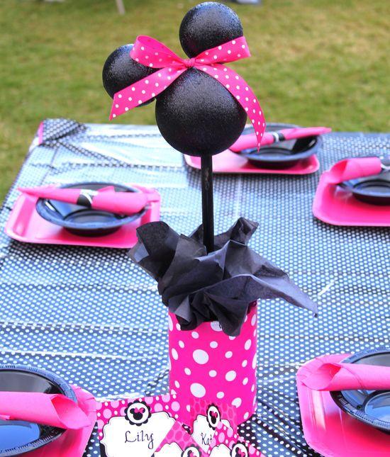 Minnie Mouse Centerpieces -