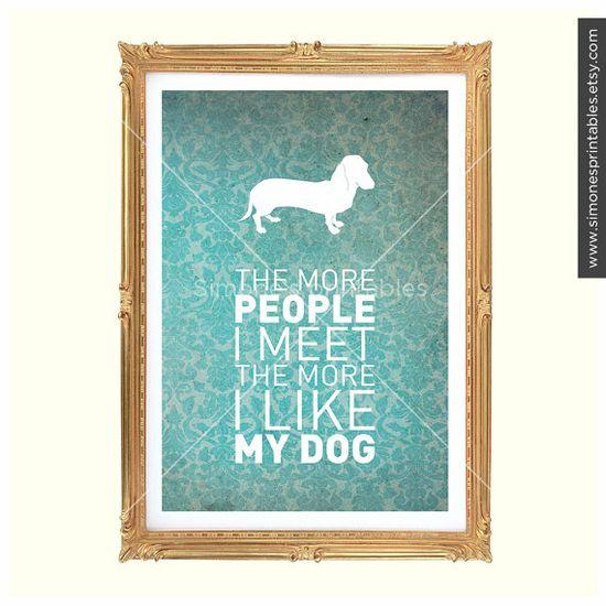 the more i like my dog