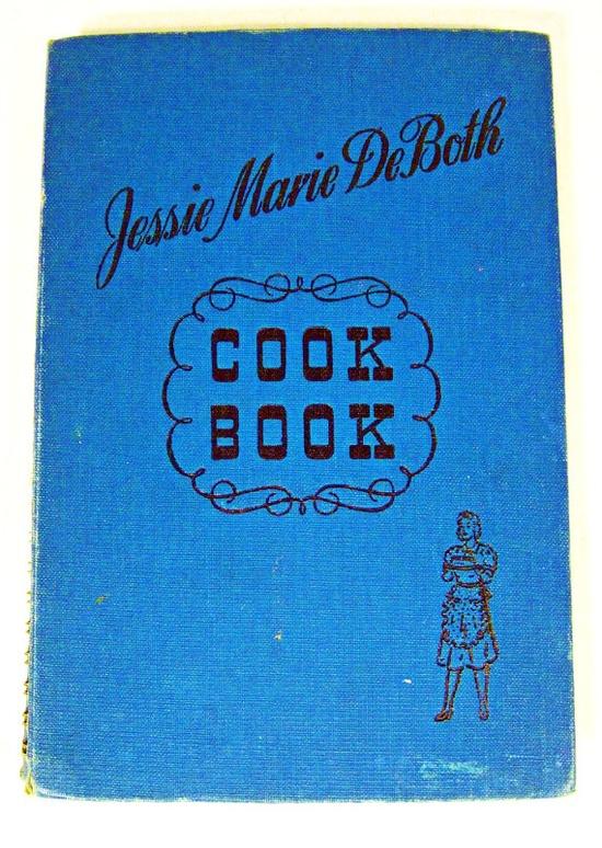 vintage cook book - Jessie Marie DeBoth - recipes - 1940s - 9.00
