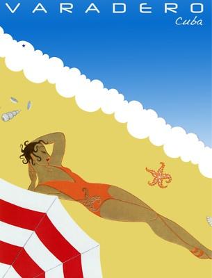 Vintage Poster Varadero Cuba