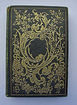 O beautiful antique book cover...