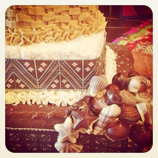 Fijian wedding cake?