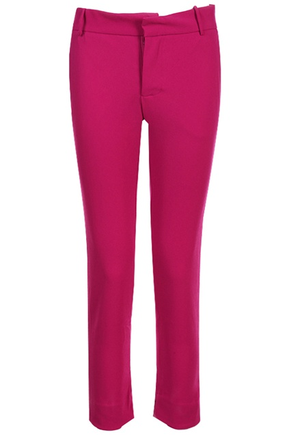 Solid Color Rose Pants #Romwe