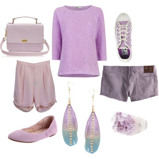 lavender, created by electricpinkunicorn on Polyvore
