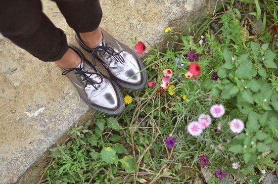 #fashion #shoes Échappée verte