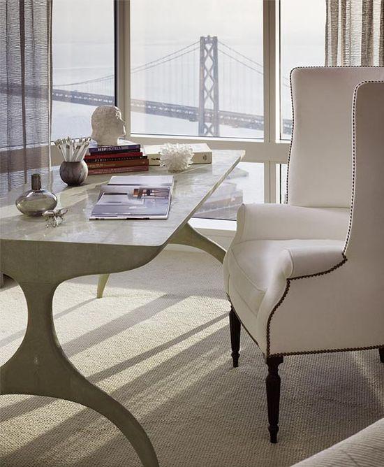 Geoffrey De Sousa Interior Design #office #design #elegant