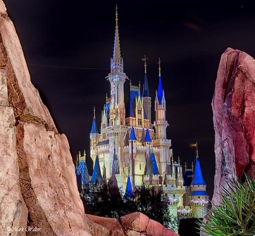 A Peek at Cinderella's Castle