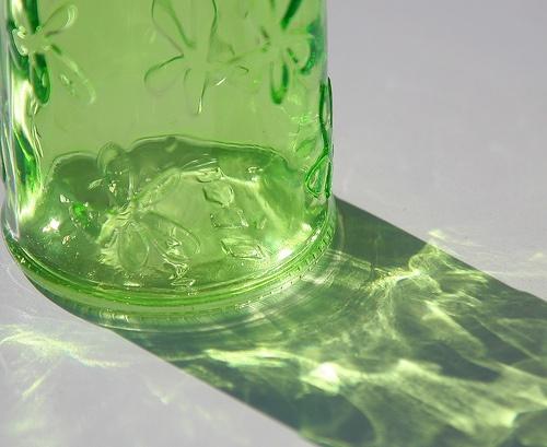 Light through Green Glass
