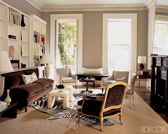 Love these neutrals & browns Rugs on Top of Rugs