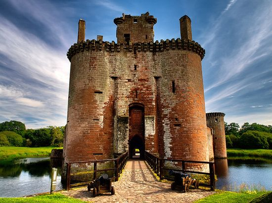 Caeverlock Castle, Scotland