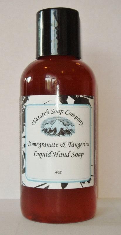 Pomegranate & Tangerine Handmade Liquid Soap