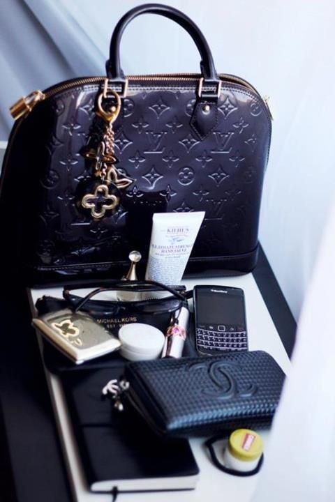 oh, the mysteries of a lady's handbag ( purse)