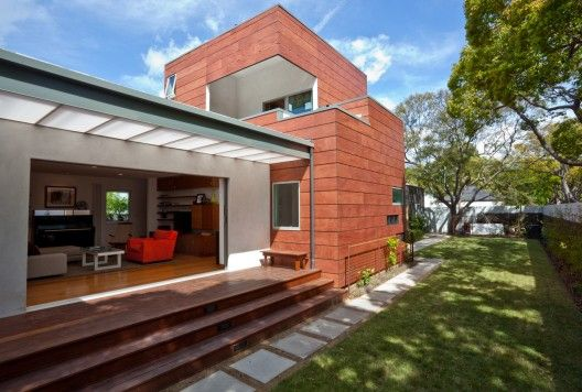 25th Street Residence / Shimizu + Coggeshall Architects 9/16/2011 via ArchDaily