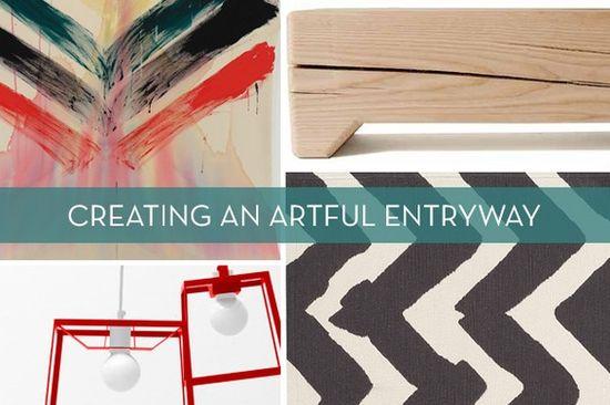 Creating an Artful Entryway