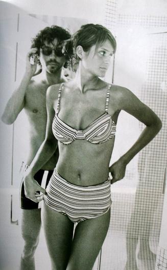 Helena Christensen & Michael Hutchence by Peter Lindbergh, 1994