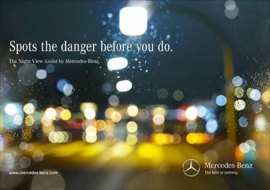 Agency: BBDO, Czech Republic  Campaign: Mercedes Night View Assist: Child
