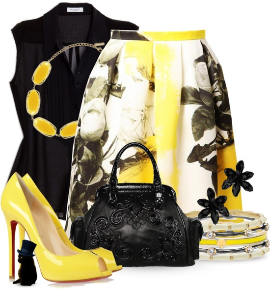 """Lemon Twist"" by katc on Polyvore"