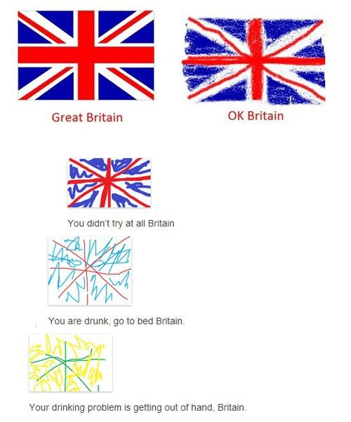 drunk great britain