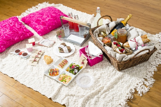 romantic valentines day picnic by boutique bites