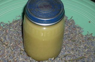 Dry-skin salve: equal amounts of olive oil and dried blossoms/petals of your choice. Can add grapeseed oil with a blend of lavender and mint.