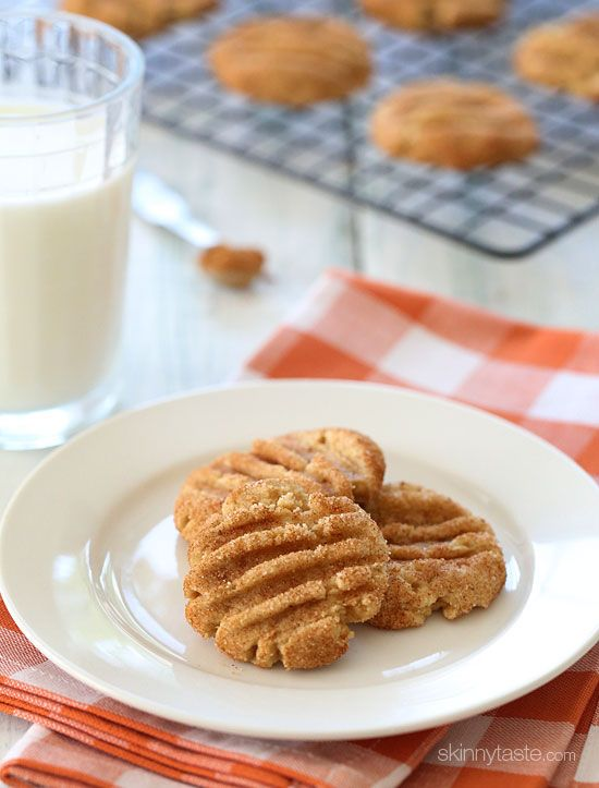 Skinny Pumpkin Spiced Snickerdoodles - you know you want one!!