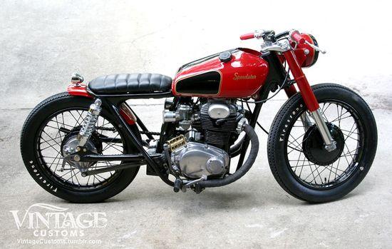 Kustom?King: '69 Honda CB350