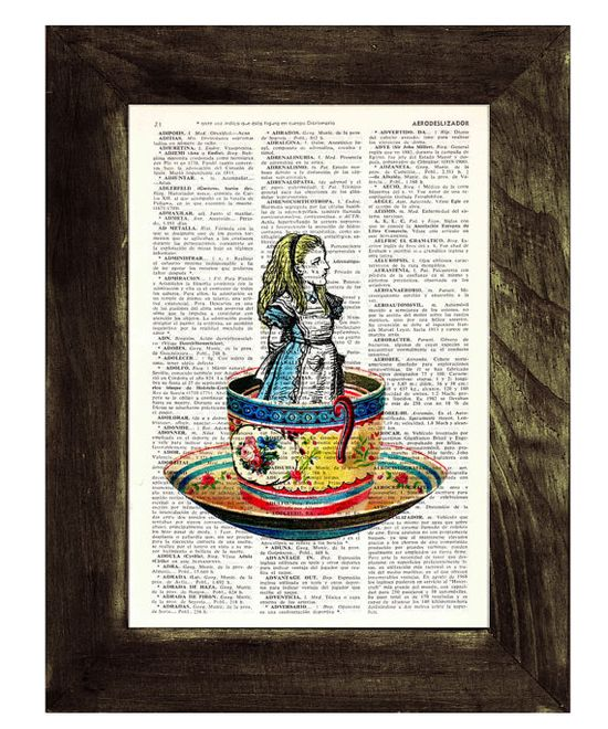 Alice in a Tea Cup