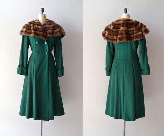Vintage 1930s coat via Etsy.