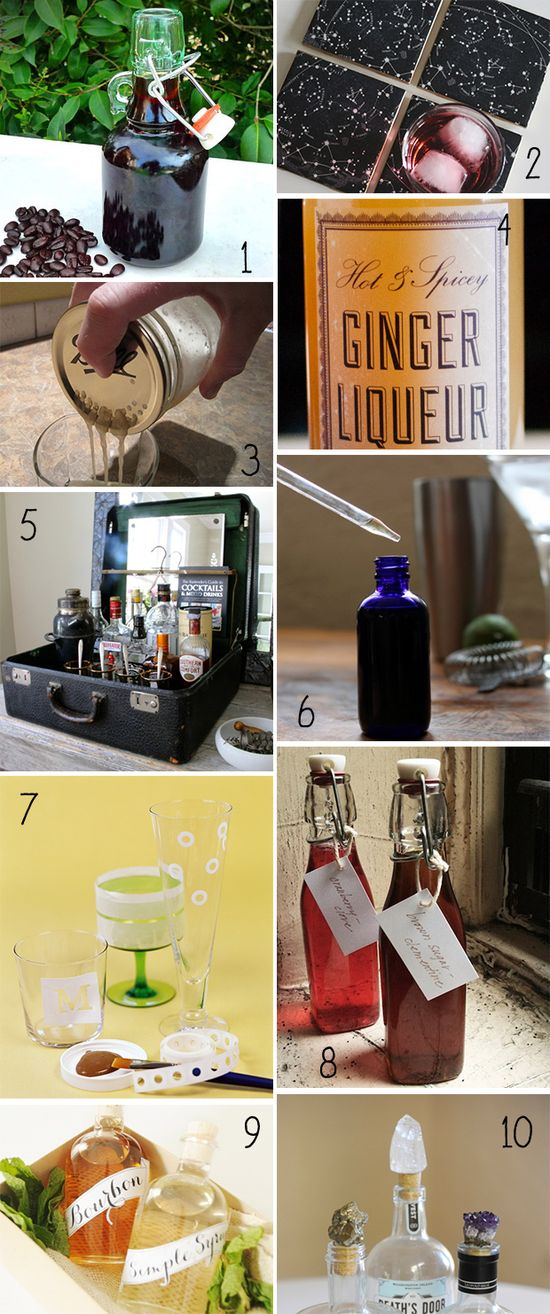 DIY gifts for the home bartender