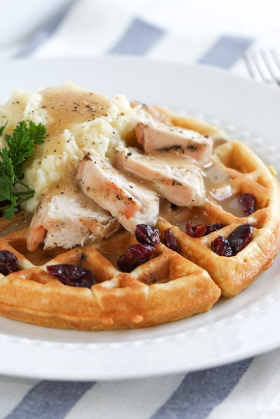The Thanksgiving Waffle