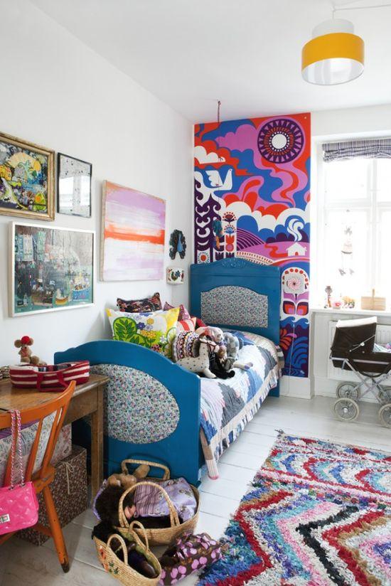 bohemian kid's room