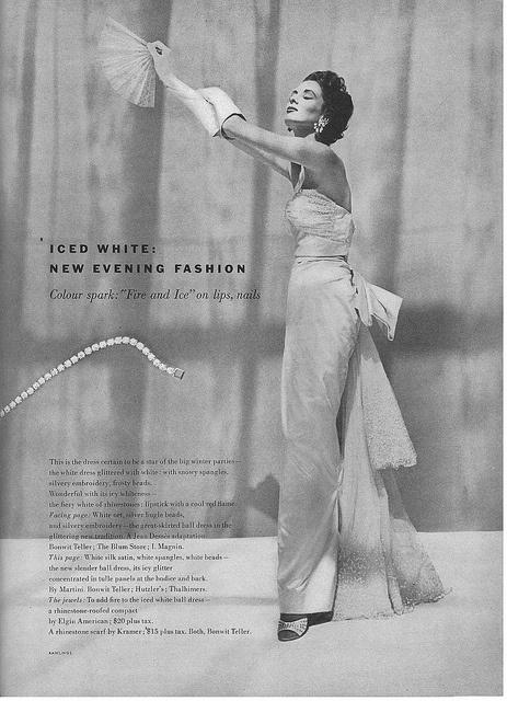 Suzy Parker, November Vogue 1952  photo by John Rawlings