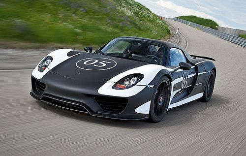 FRANKFURT: Porsche hails 918 Spyder model as hybrid sports car of future - TheTopTier.net - The Best in Luxury and Affluence