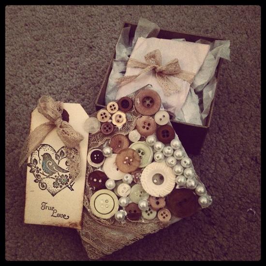 My hand made gift box