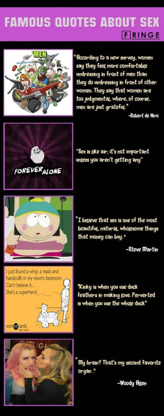 Famous Quotes About Sex - www.meme-lol.com
