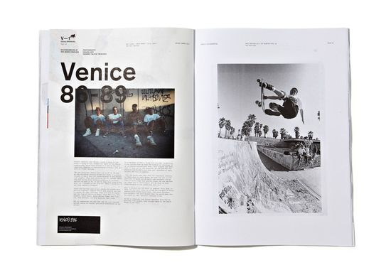 Stussy Biannual Vol. 1: The Process magazine + editorial + layout + grid + typography
