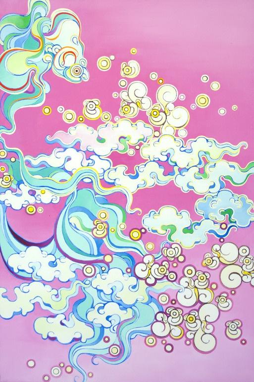 "Saatchi Online Artist: Ye Zhou; Oil, 2010, Painting ""Good Bye"""