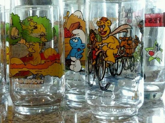 Classic cartoon glasses